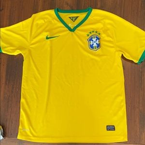 Never Worn Nike Brasil Cbf Stadium Home Soccer